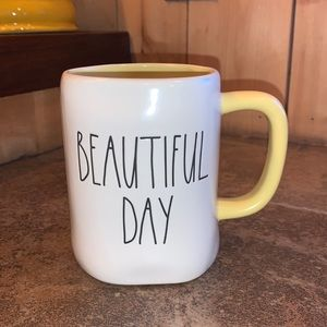 "Rae Dunn ""Beautiful Day"" Mug"